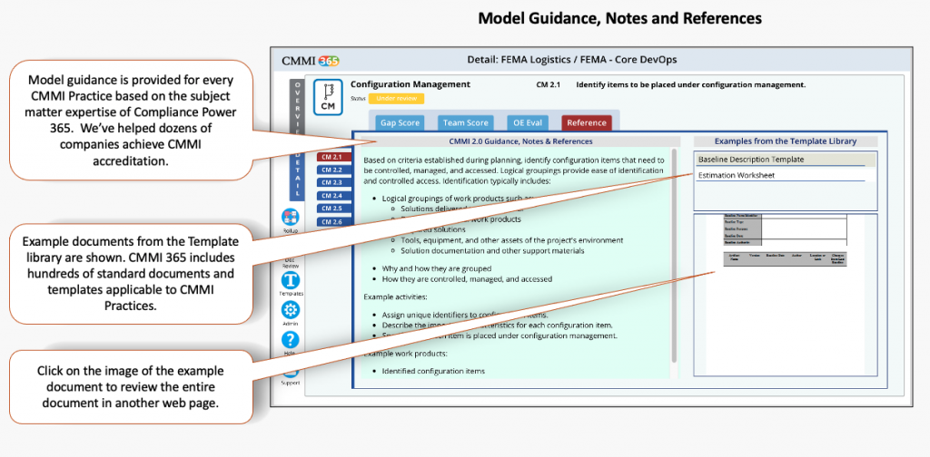 CMMI 365 Reference for the CMMI V2.0 Model