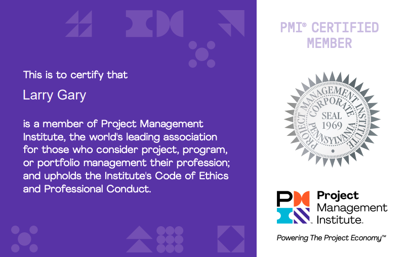 PMP certified project management